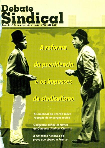 Revista Debate Sindical - Nº 21